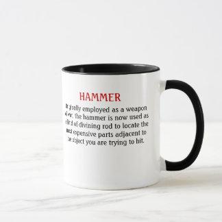 Hammer / pry bar mug