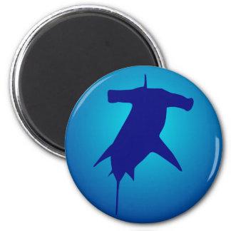 Hammer shark hammerhead shark refrigerator magnets