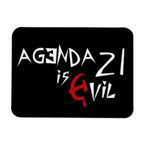 Hammer Sickle Agenda 21 is Evil Magnet