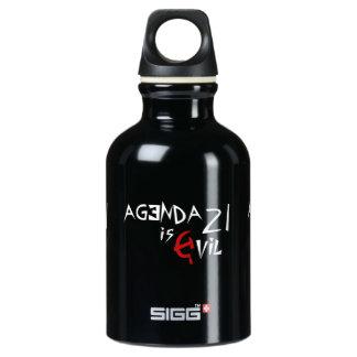 Hammer Sickle Agenda 21 is Evil SIGG Traveler 0.3L Water Bottle
