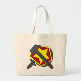 HAMMER, SICKLE AND STAR CANVAS BAG