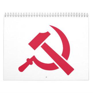 Hammer Sickle Wall Calendars