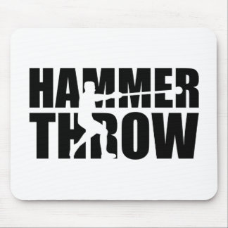 Hammer throw mouse pad