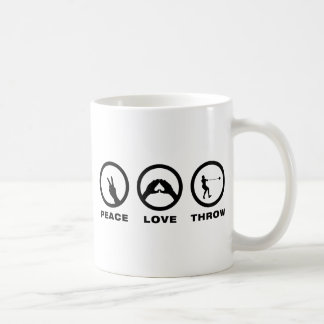 Hammer Throw Classic White Coffee Mug