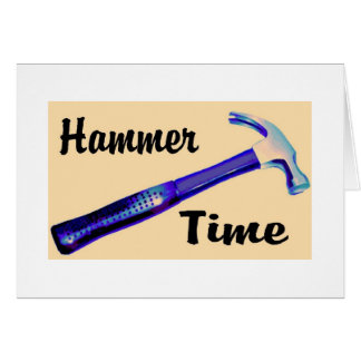Hammer Time Card