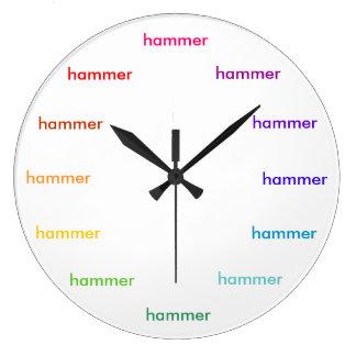 Hammer time clock