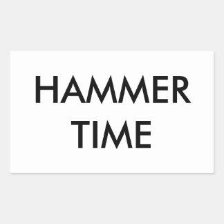 Hammer Time Sticker