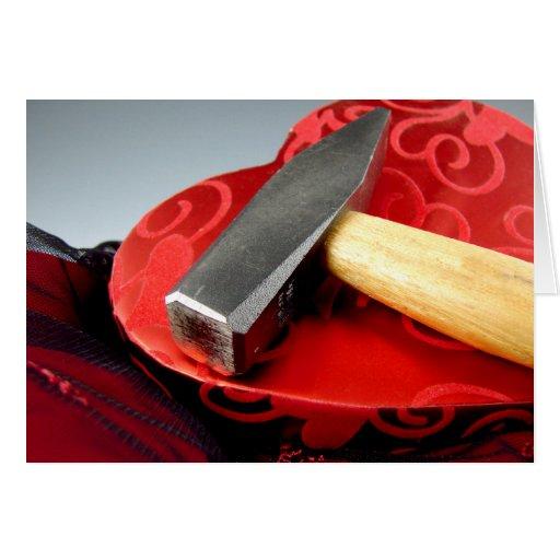 Hammer Valentine Greeting Card