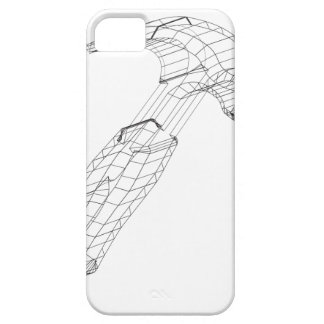 hammer wireframe iPhone SE/5/5s case