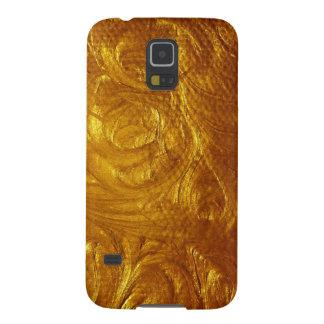 Hammered Brushed Gold Case