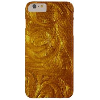 Hammered Brushed Gold iPhone Case