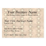 Hammered Copper Stars Business Card Template