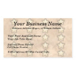 Hammered Copper Stars Business Card Templates