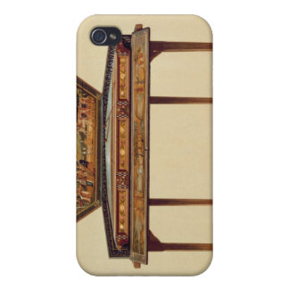 Hammered dulcimer in a painted soundbox, 18th cent iPhone 4 cover