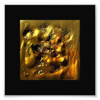 Hammered Gold Photo Print