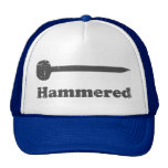 Hammered Mesh Hats