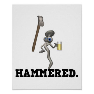 Hammered Poster