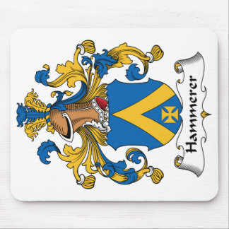 Hammerer Family Crest Mouse Pad