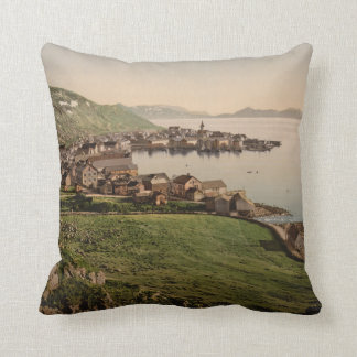 Hammerfest, Nord-Norge, Norway Throw Pillows
