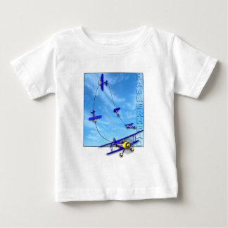 Hammerhead Aerobatic maneuver with Biplane Baby T-Shirt
