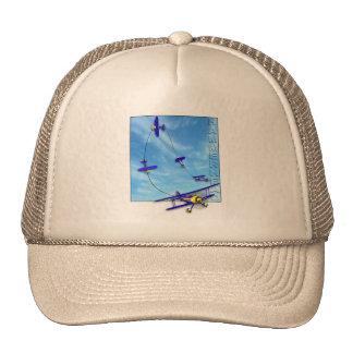 Hammerhead Aerobatic maneuver with Biplane Trucker Hat