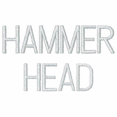 HAMMERHEAD EMBROIDERED HOODED SWEATSHIRT