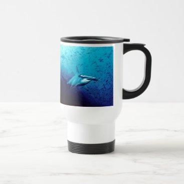 Hammerhead Shark Animal Swim Destiny's Destiny Travel Mug