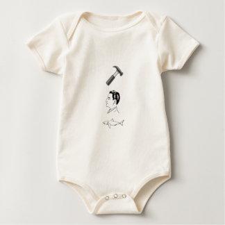 Hammerhead Shark Baby Bodysuit