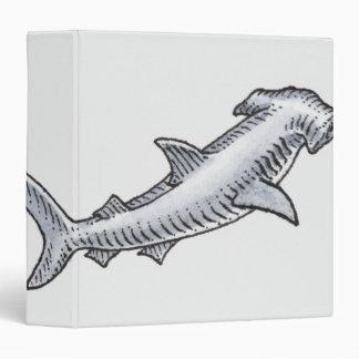 Hammerhead Shark Vinyl Binders