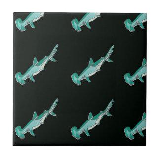 Hammerhead Shark Design Ceramic Tiles
