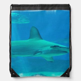 Hammerhead Shark Drawstring Bag