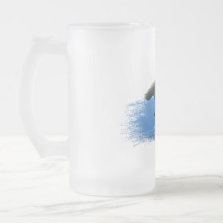 Hammerhead Shark frosted beer glass Frosted Glass Beer Mug