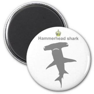 Hammerhead shark g5 fridge magnet