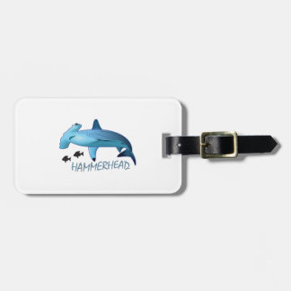 HAMMERHEAD SHARK HAMMERHEAD BAG TAG