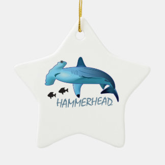 HAMMERHEAD SHARK HAMMERHEAD CERAMIC ORNAMENT