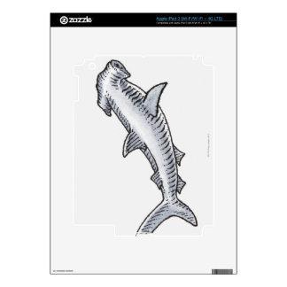 Hammerhead Shark iPad 3 Decals