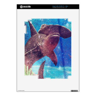 Hammerhead Shark Painting Decal For The iPad 2