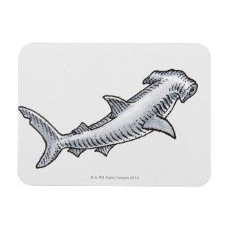 Hammerhead Shark Flexible Magnet