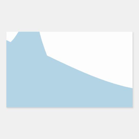 Hammerhead Shark Rectangular Sticker