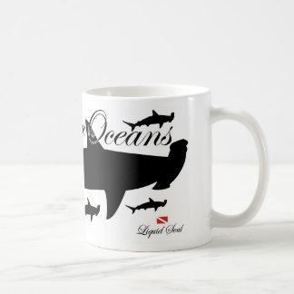 HammerHead Shark - Save Our Oceans Mugs