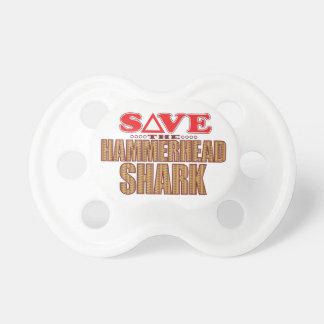 Hammerhead Shark Save Pacifier