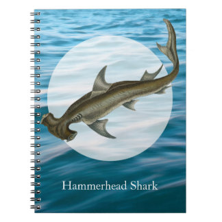 Hammerhead Shark Sea Life Notebook