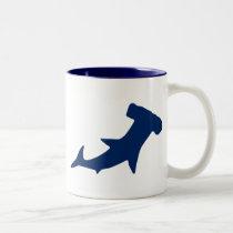 Hammerhead Shark Two-Tone Coffee Mug