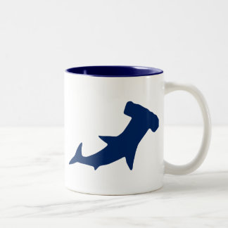 Hammerhead Shark Two-Tone Coffee Mug