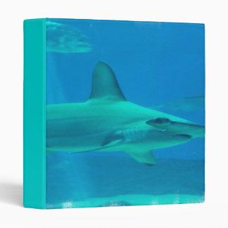 Hammerhead Shark Underwater Binder