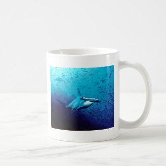 Hammerhead shark water fish dive swimming coffee mug