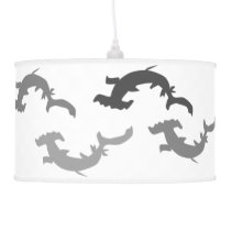 Hammerhead Sharks Ceiling Lamp