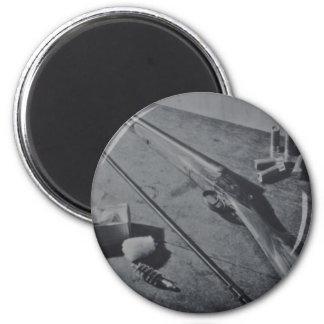Hammerless Shotgun Magnet