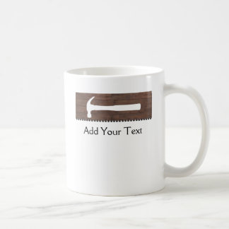 Hammers and Nails Construction Coffee Mugs