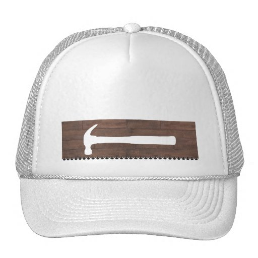 Hammers and Nails Construction Trucker Hat